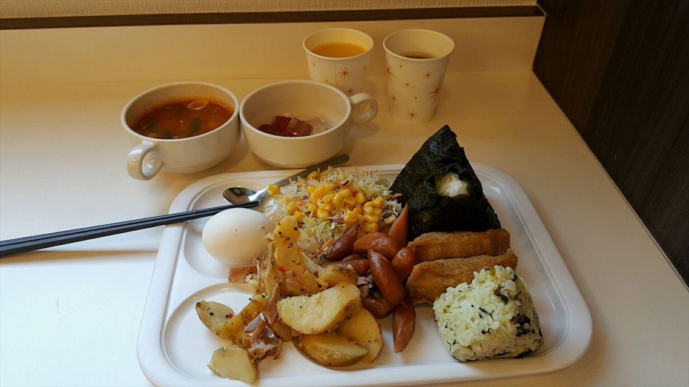 コンフォートホテル朝食