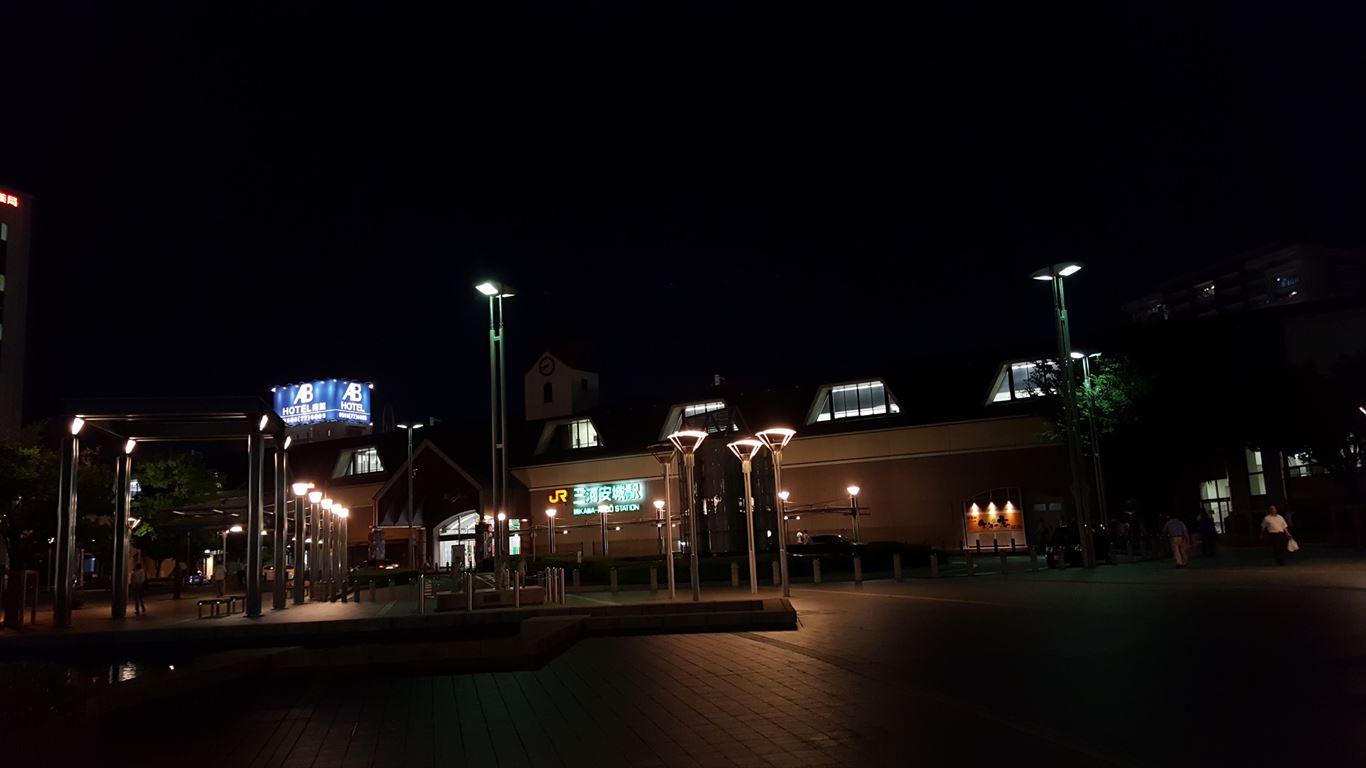 三河安城駅(新幹線側)