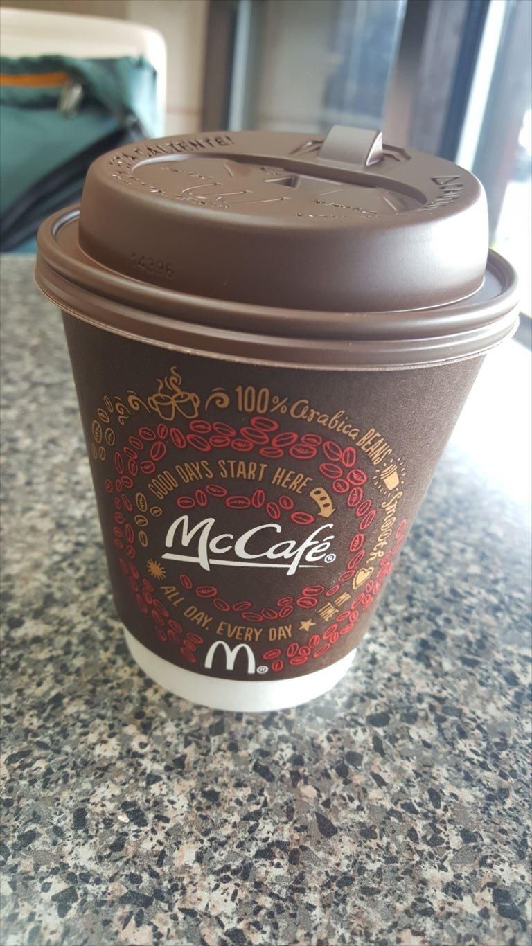 マクドナルド_コーヒー