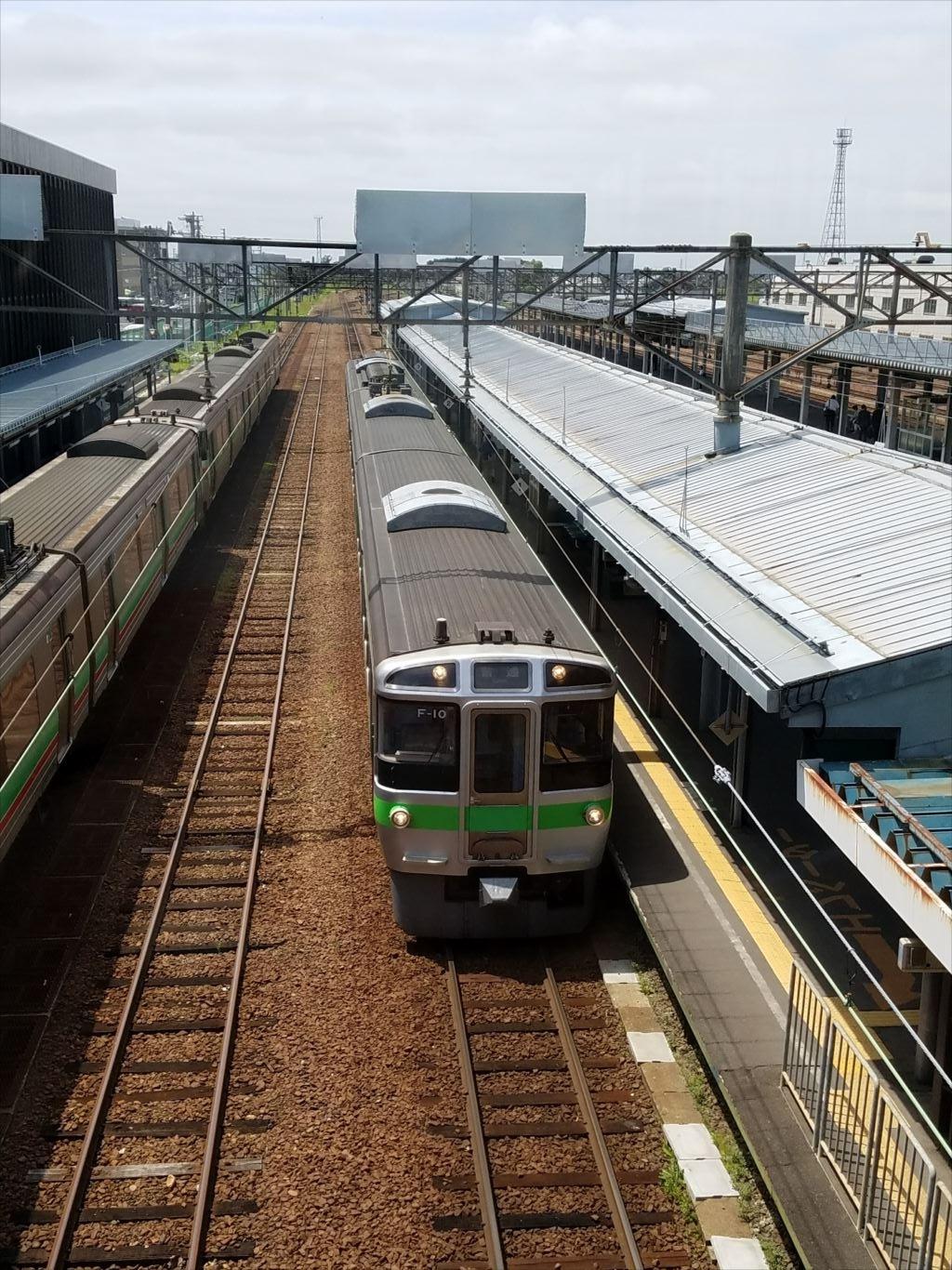 岩見沢_旭川の電車