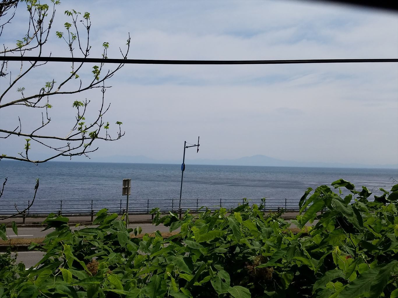 オホーツク海と知床半島