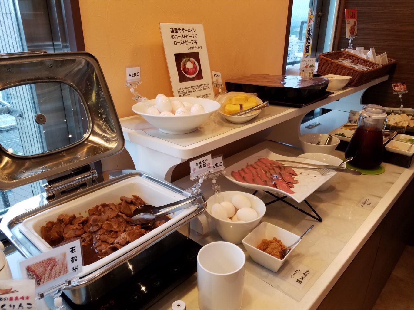 CABIN帯広_朝食1
