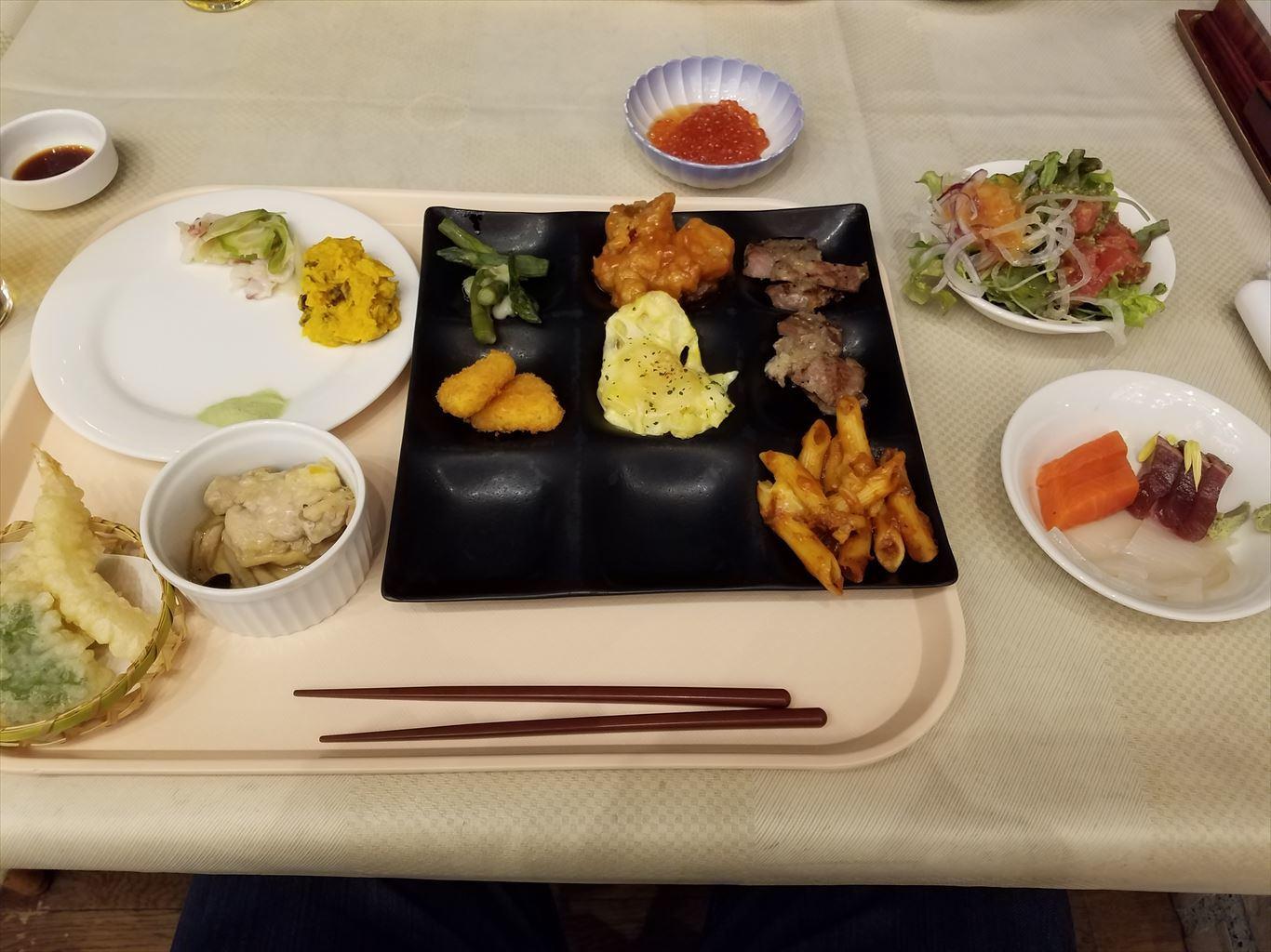北広島クラッセホテル_夕食